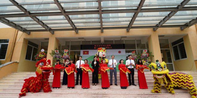 Lễ khai trường Trung tâm đào tạo & hướng nghiệp Nhật Bản số 2 - Công ty DECO